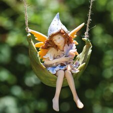 Petal Fairies Playful Pixie Statue