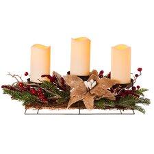 Holiday 3 Light Centerpiece