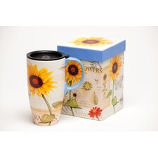 Sunflowers Latte Travel Cup