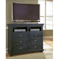 Willow 6 Drawer Media Chest