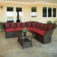 Versa 4 Piece Deep Seating Group with Cushions