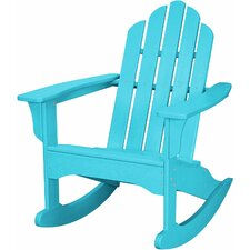 All-Weather Adirondack Rocking Chair