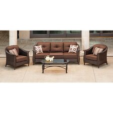 Gramercy 4 Piece Deep Seating Group with Cushions