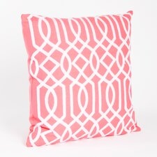 Colette Embroidered Design Throw Pillow