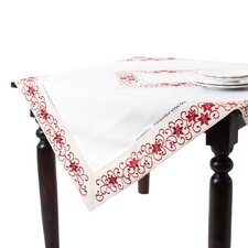 Francine Embroidered and Cutwork Table Topper