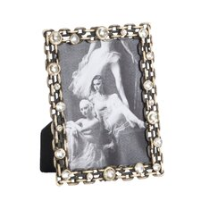 Antique Design Jeweled Picture Frame