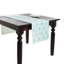 Teardrop Design Printed Table Runner
