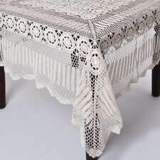 Crochet Lace Rectangle Table Cloth