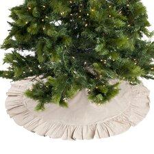 Ruffled Cotton Tree Skirt