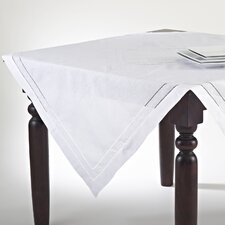 Embroidered and Hemstitch Table Cloth