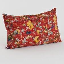 Printed Cotton Throw Pillow