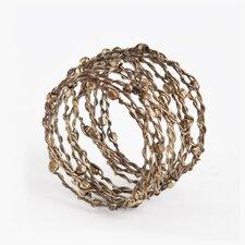 Metal Napkin Rings (Set of 4)