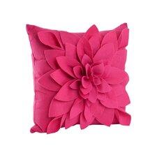 Flower Polyester Throw Pillow