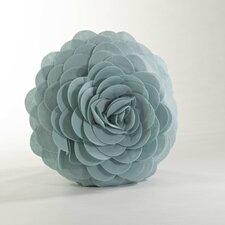 Eva's Fleurs de Jardin Flower Cotton Throw Pillow