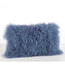Mongolian Lamb Fur Lumbar Pillow