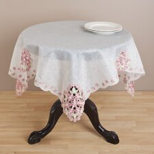 Embroidered and Cutwork Table Topper