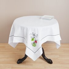 Embroidered Xmas Table Topper