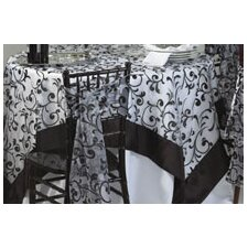 Flocked Table Cloth
