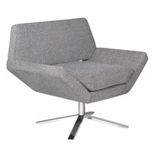 Sly Lounge Chair in Grey
