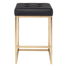 "Chi 25.75"" Bar Stool with Cushion"