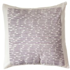 Wysteria Channels Cotton Throw Pillow