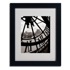 """Big Clock"" by Chris Bliss Matted Framed Photographic Print"