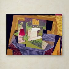 """""""Composition on a Table 1916"""" by Juan Gris Painting Print on Wrapped Canvas"""
