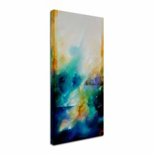 """Aqua Breeze"" by CH Studios Painting Print on Wrapped Canvas"