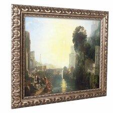 'Dido Building Carthage' by Joseph Turner Ornate Framed Art