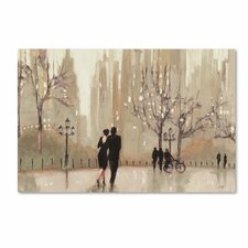 'An Evening Out Neutral' by Julia Purinton Painting Print on Canvas