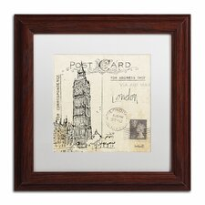 'Postcard Sketches II' by Anne Tavoletti Framed Painting Print