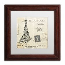 'Postcard Sketches III' by Anne Tavoletti Framed Painting Print