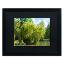'Pond and Paintography' by Philippe Sainte-Laudy Framed Photographic Print
