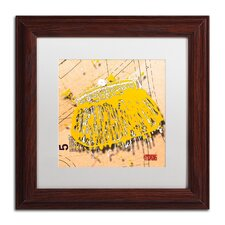 'Snap Purse Yellow' by Roderick Stevens Framed Photographic Print
