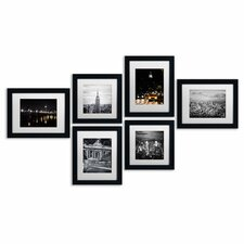 Urban 6 Piece Framed Photographic Print Art Set