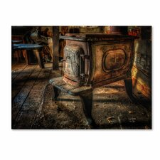 """Liberty Wood Stove"" by Lois Bryan Photographic Print on Gallery Wrapped Canvas"