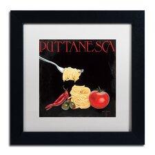 """Italian Cuisine I"" by Marco Fabiano Framed Painting Print"