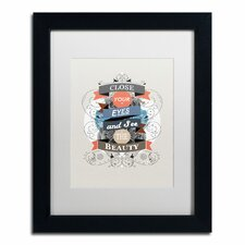 """""""The Beauty"""" by Kavan & Co Matted Framed Graphic Art"""