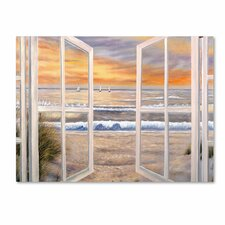 """""""Elongated Window"""" by Joval Painting Print on Gallery Wrapped Canvas"""