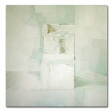 'White' by Daniel Cacouault Painting Print on Canvas