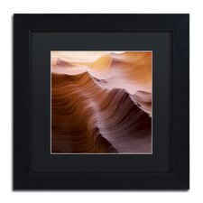 """""""Smooth I"""" by Moises Levy Framed Photographic Print in Black"""