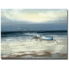 """""""Low Tide"""" by Rio Painting Print on Canvas"""
