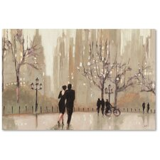 """""""An Evening Out Neutral"""" by Julia Purinton Painting Print on Canvas"""