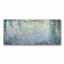 """Water Lilies, Morning II"" by Claude Monet Painting Print on Canvas"