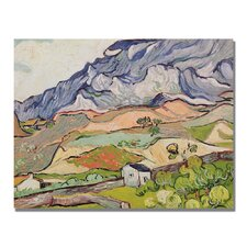 """The Alpilles"" by Vincent van Gogh Painting Print on Canvas"