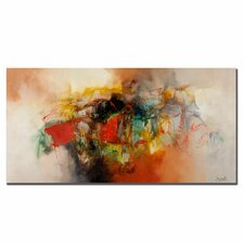 'Abstract' by Zavaleta Painting Print on Canvas