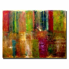 """Color Abstract"" by Michelle Calkins Painting Print on Wrapped Canvas"