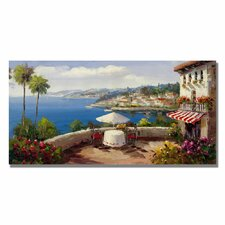 'Italian Afternoon' by Rio Painting Print on Canvas