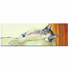 """""""Sunbather"""" by Pat Saunders-White Painting Print on Canvas"""