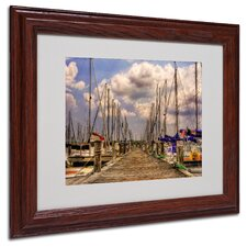 """""""Pirates Cove"""" by Lois Bryan Matted Framed Photographic Print"""